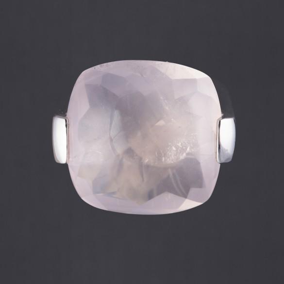 Bague quartz rose Pianegonda
