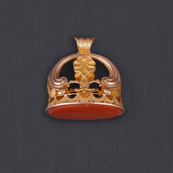 Cachet pendentif datant de 1809