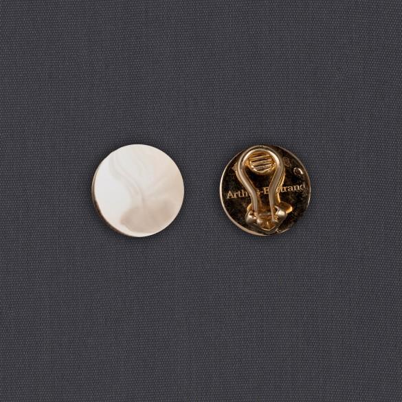 Boucles d'oreille bouton
